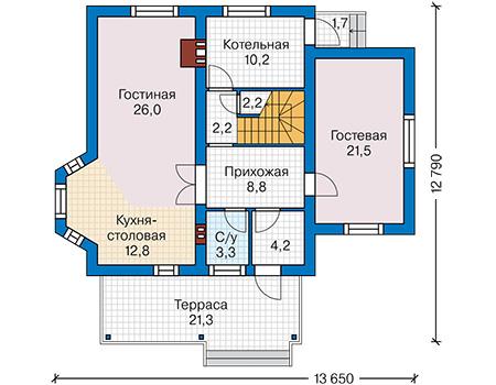 План первого этажа :: Проект 59-68